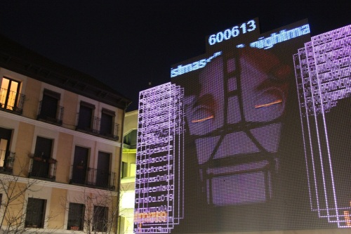 zanjita Euraca - fachada digital Medialab Prado