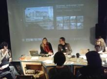 Visita del proyecto Schrbk (An Mertens + Peter Westenber - Constant)