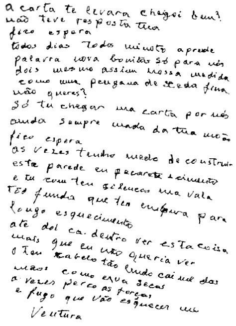 La carta de Ventura II
